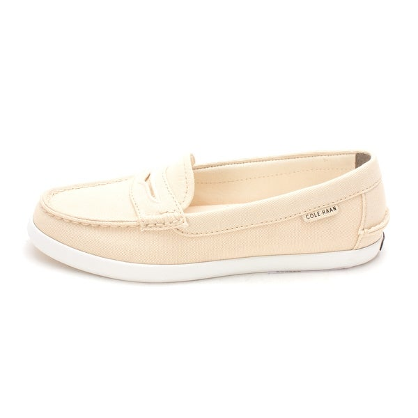 Cole Haan Womens W02183 Canvas Closed Toe Loafers - 6