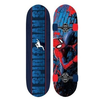 Play Wheels 28 in. Ultimate Spider-Man Skateboard - Spider Crawl