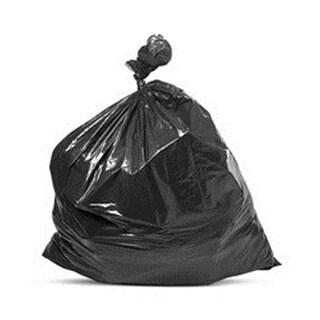 Petoskey Plastics Can Liner - 55 Gallon HD Black Trash Bags