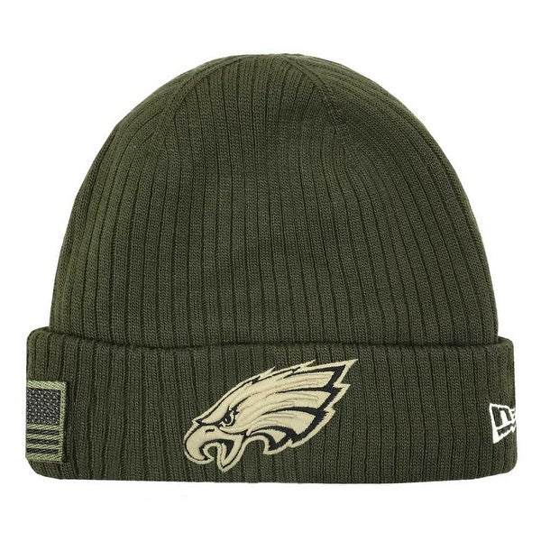 Shop New Era 2018 NFL Philadelphia Eagles Salute to Service Knit Hat  Stocking Beanie - Free Shipping On Orders Over  45 - Overstock - 23577493 017313124b6