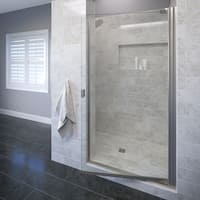"Basco 3600-3CL Classic 66"" High x 30-1/8"" Wide Pivot Framed Shower Door with Clear Glass - N/A"