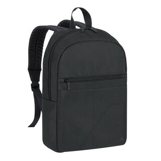 Rivacase 8065BLCK 15.6 in. Laptop Backpack, Black - 12