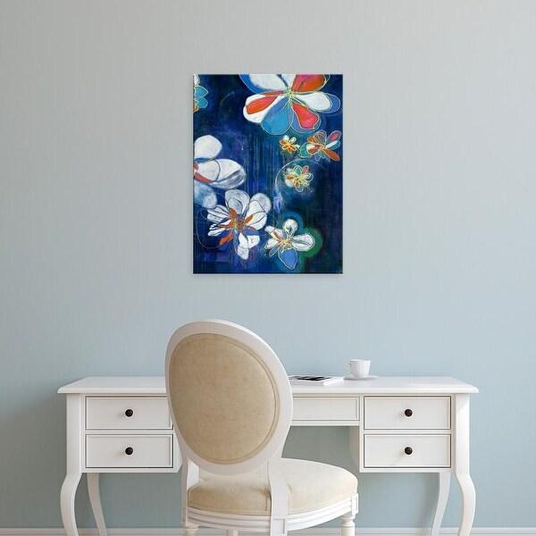 Easy Art Prints Jodi Fuchs's 'Night Blooms II' Premium Canvas Art