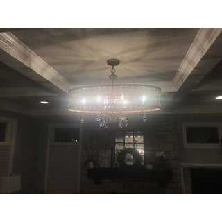 Minka Lavery 4407-581 6 Light Single Tier Chandeliers from the West Liberty Collection