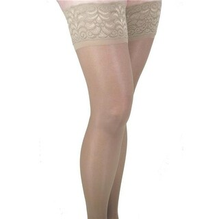 GABRIALLA Graduated Compression Thigh Highs (Sheer Lace Top