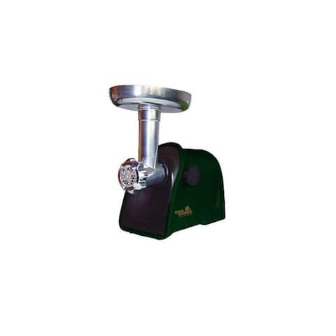 Open Country FG-250SK, 200 Watt Food Grinder with Stainless Steel Blade, Green