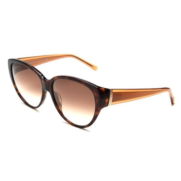 John Galliano Women's Cat Eye Two Tone Sunglasses Tortoise/Orange - Clear - Small