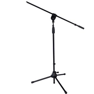 "LyxPro TMS-1 Tripod Boom Arm Floor Microphone Stand Adjustable Height 38.5"" to 66"""