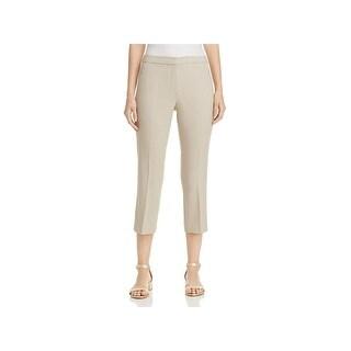 T Tahari Womens Harper Dress Pants Work Wear Skinny Beige 16