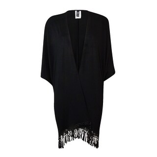 Becca by Rebecca Virtue Women's Fringed Swim Cover-Up