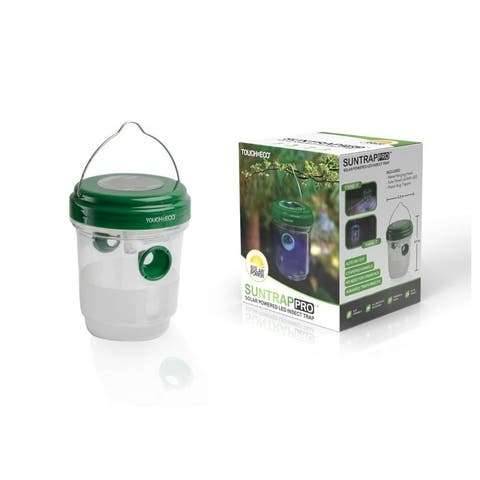 Solar LED Mosquito & Insects Trap With UV Light