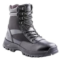 """Dickies Men's Javelin 8"""" Soft Toe Tactical Safety Work Boot Black Leather"""