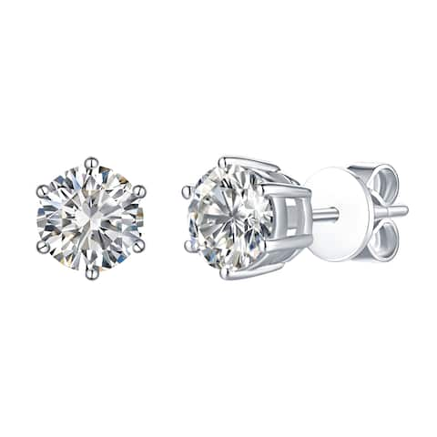 Smiling Rocks Essentials Collection 1.48Ct G-H/VS1 Lab Grown Diamond Earring