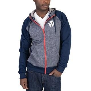 Adidas Mens John Wall Hoodie Navy Blue - navy blue/red