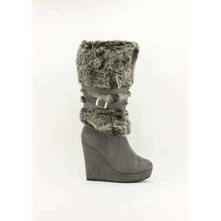 Red Circle Footwear 'Chelby' Wedge Bootie