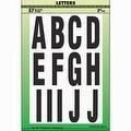 """Hy-Ko 3"""" Assortment Letters - Thumbnail 0"""