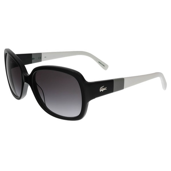 Lacoste L783/S 001 Black Square sunglasses Sunglasses - 56-17-130