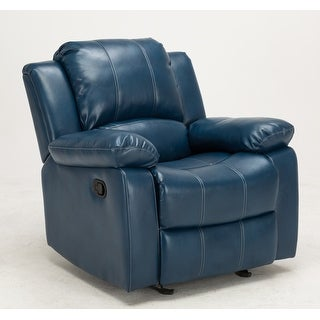 Link to Charleston Leather Gel Glider Recliner by Greyson Living Similar Items in Living Room Furniture