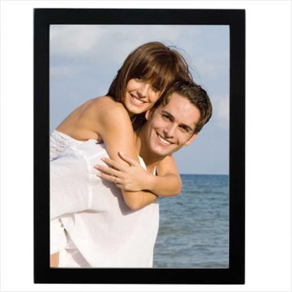 Shop 11x14 Black Wood Picture Frame Gallery Collection Free