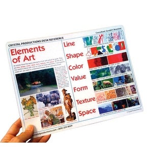 Crystal Productions Elements And Principles Desk Reference - 11 X 8.5 Inch