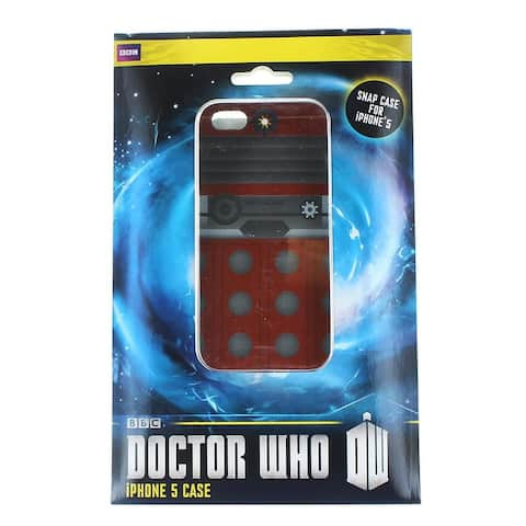Doctor Who iPhone 5 Hard Snap Case Another Dalek - Multi