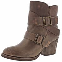 Naughty Monkey Cross My Heart Women's Buckle Booties