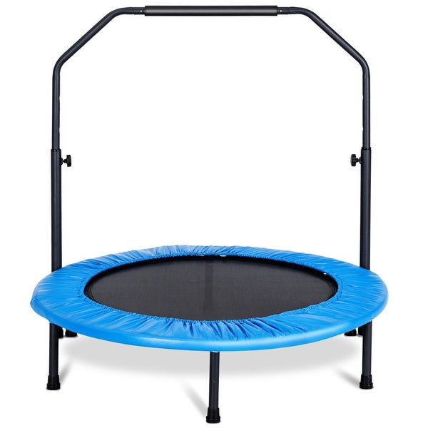 Shop Gymax Mini Rebounder Trampoline With Adjustable Hand