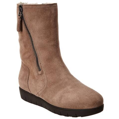 Aquatalia Wanita Weatherproof Suede Boot