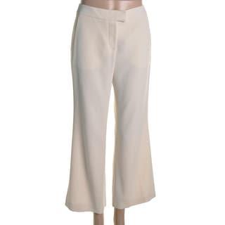 A La Russe Womens Crepe Flat Front Dress Pants - 36