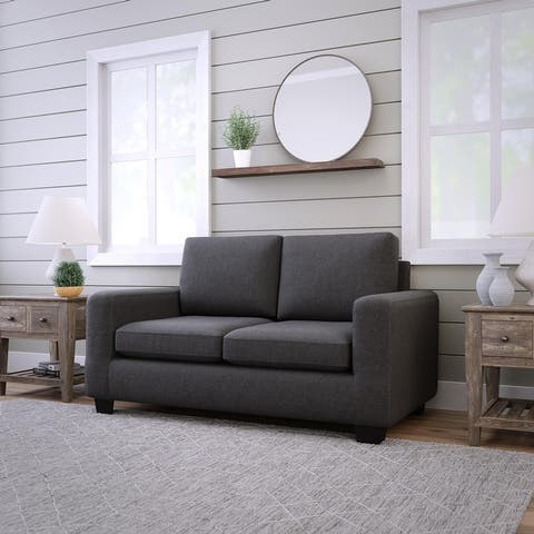 "Brookside Shay 61"" Upholstered Track Arm Loveseat"