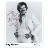 Signed Pillow Ray 8x10 BW autographed