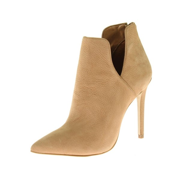 Steve Madden Womens Dip Ankle Boots Cut-Out