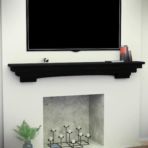 SEI Furniture Bonclary Fireplace Mantel Shelf