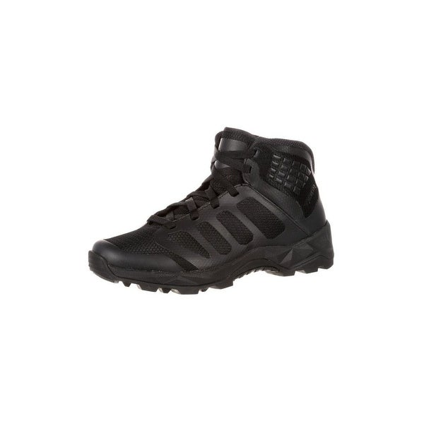 Rocky Work Boots Mens Elements of Service Duty Athletic Black