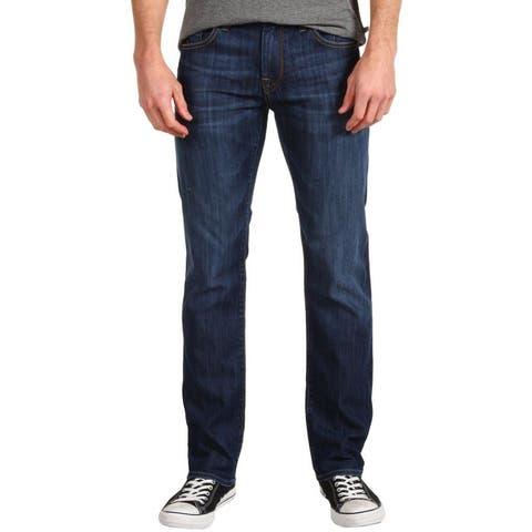 Mavi Jeans Mens River Edge Blue Size 29x32 Zach Straight Leg Stretch
