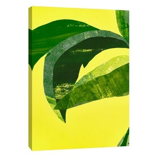 "PTM Images 9-108601  PTM Canvas Collection 10"" x 8"" - ""Heat Wave 1"" Giclee Leaves Art Print on Canvas"