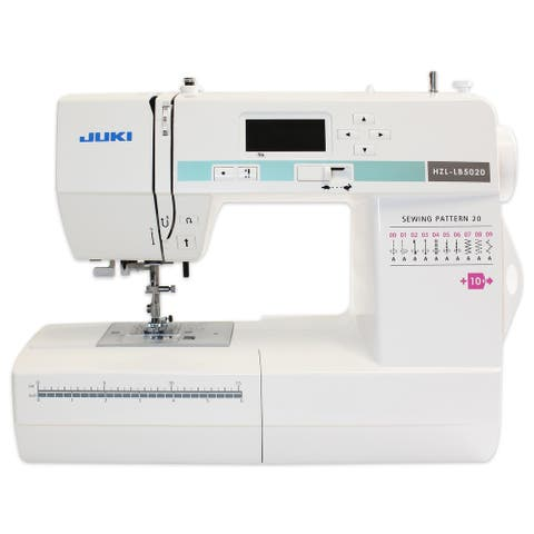 Juki HZL-LB5020 Computerized Sewing Machine - White