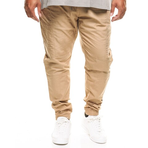 Fly Society Big Men's Stretch Twill Ripstop Jogger Pant
