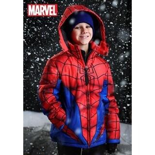 Spider-Man Puffer Superhero Jacket for Kids