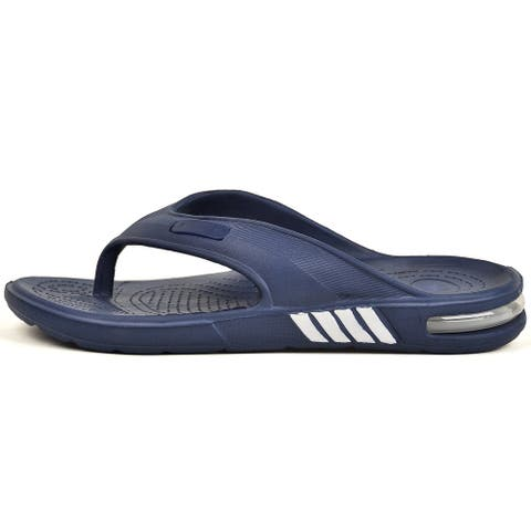 Vonmay Men's Slides Thong Sandals Outdoor Slippers Sport Flip Flop Open Toe Strap Non Slip Shower Shoes
