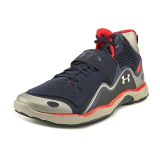 Under Armour Micro G GridIron Trainer Men  Synthetic Blue Basketball Shoe