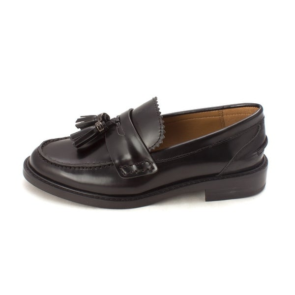 Coach Womens Izabella Box Calf Leather Closed Toe Loafers