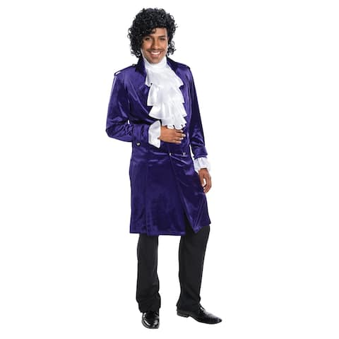 Adult Prince Purple Rain Halloween Costume Coat