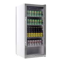 "EdgeStar VBR240 22"" Wide 8.6 Cu. Ft. Commercial Beverage Merchandiser with Temperature Alarm - Stainless Steel - N/A"