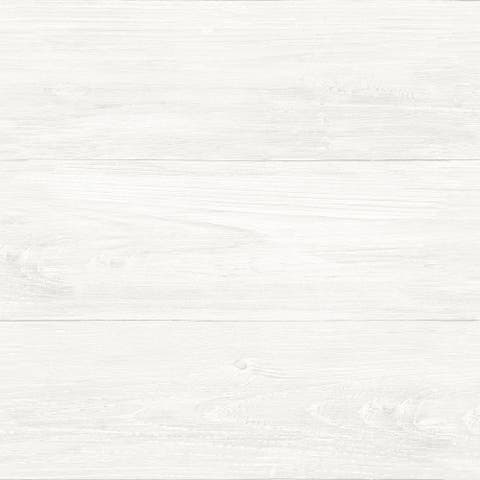 Brewster NU2494 Reclaimed Shiplap 30 3/4 Square Foot Coverage Faux - White