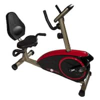 Best Fitness Recumbent Bike - Black