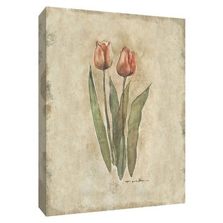"PTM Images 9-154681  PTM Canvas Collection 10"" x 8"" - ""Springtime Tulips"" Giclee Tulips Art Print on Canvas"