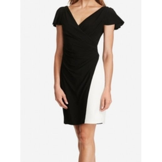 67caa1a0df6 Shop American Living NEW Black White Womens Size 8 Colorblock Sheath Dress  79 127 - Free Shipping On Orders Over  45 - Overstock.com - 18318367