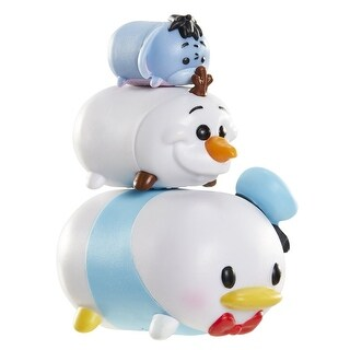 Disney Tsum Tsum 3 Pack: Eeyore, Olaf, Donald - multi