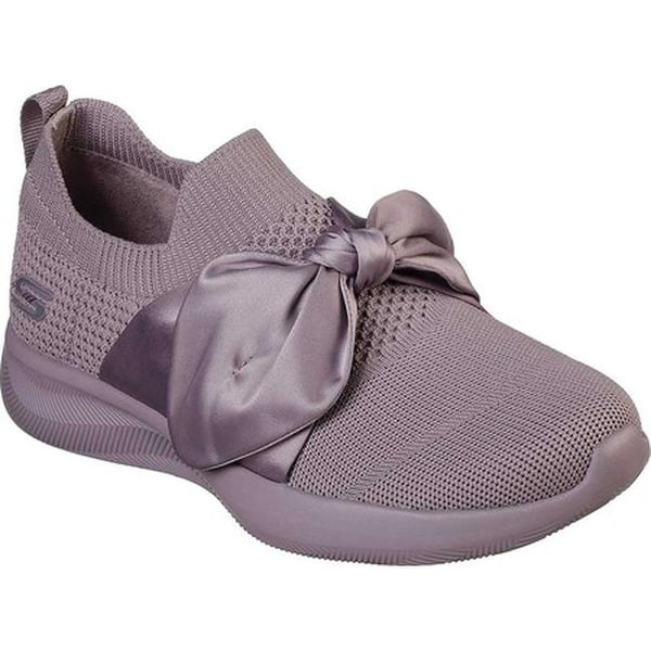 skechers pink bow shoes